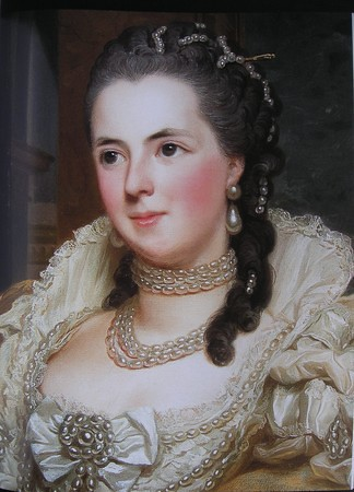 Painting by Alexandre Roslin (Detail)