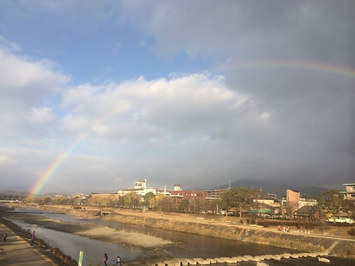 180度の虹。