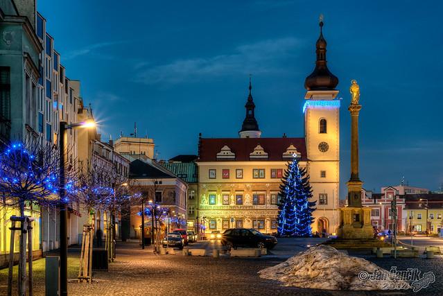 Old Town Square Mladá Boleslav