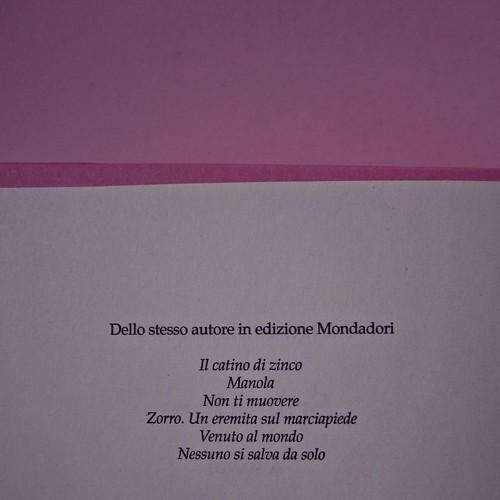 Margaret Mazzantini, Splendore. Mondadori 2013. Art Director: Giacomo Callo; Progetto Grafico: Marcello Dolcini; Graphic Designer: Susanna Tosatti; alla sovracop: ©R. McGinley. Pag. del colophon (part.), 1