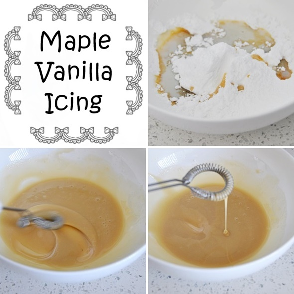 Maple Vanilla Icing
