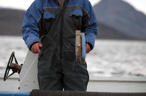 Fishing in Greenland