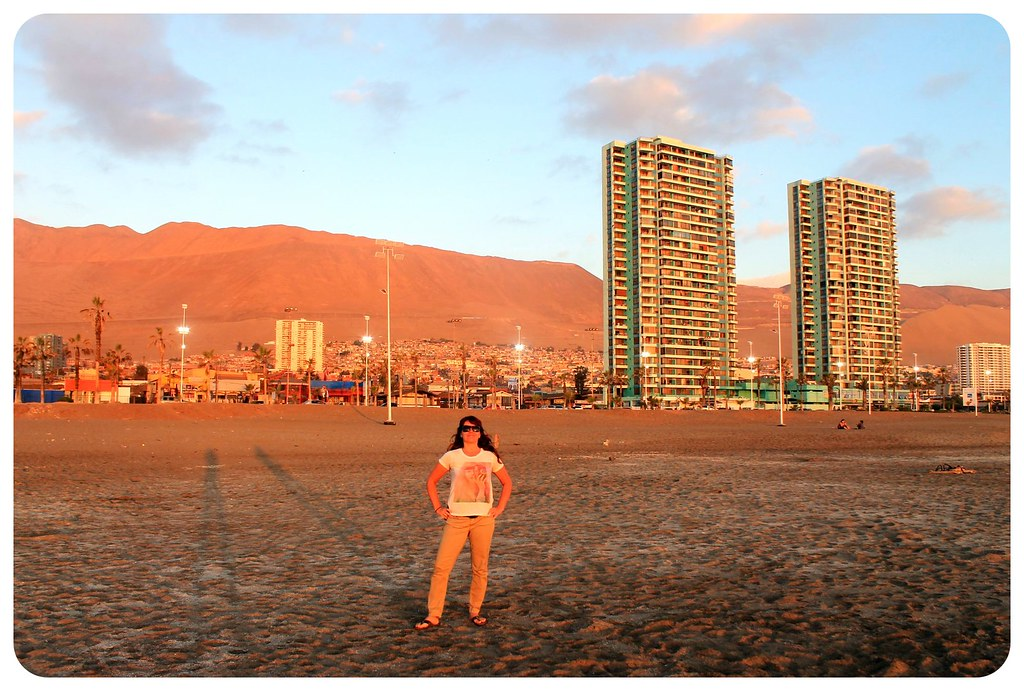 iquique jess at sunset chile