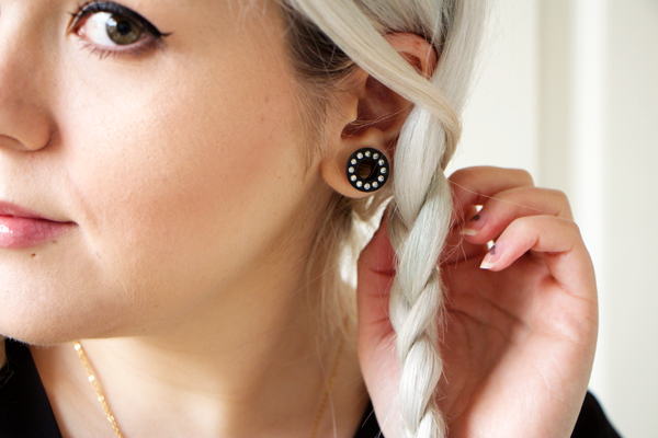 Stretched ears. Beautiful. | Ear | Pinterest | Stretched ears ...