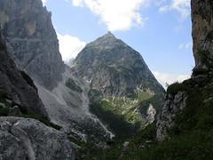 Foto per 25. La piramide del monte Nabois Grande vista dalla Sella Carnizza.
