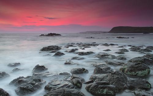 sunset red sea sky sun seascape rock landscape rocks australia victoria phillipisland speke spekewreck
