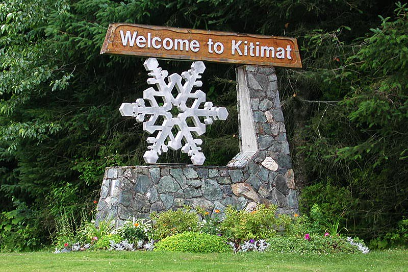Kitimat, Kitimat Valley, Northern British Columbia, Canada