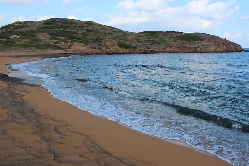 Platja de Binimel·là, Menorca