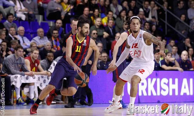 Tegola Barcellona, si ferma Navarro in vista della trasferta di Milano