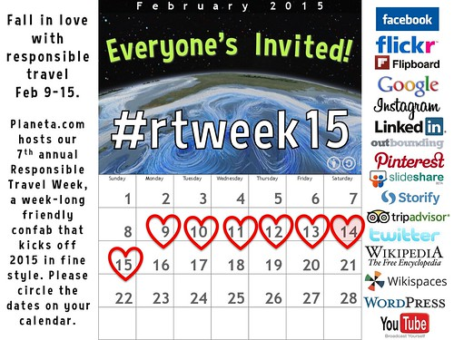 Fall in love with responsible travel Feb 9-15, 2015 #rtweek15