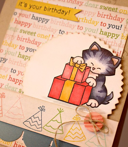Birthday Kitty Card 2