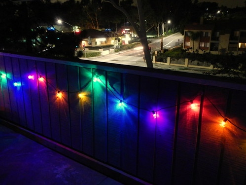 rainbow fairy lights