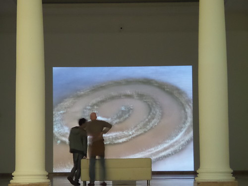 Robert Smithson, Spiral Jetty in Video by Ylbert Durishti