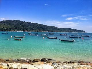 Bild av Jeti Kampung Pulau Perhentian Stranden med en längd på 798 meter. dscrx100ii rx100ii soa14