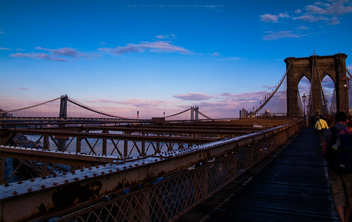 moment in Brooklyn bridge