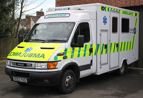 St John Ambulance - Iveco Daily Emergency Ambulance ( KE03 YHD )