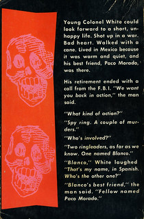 Dell Books 909 - Bart Spicer - The Day of the Dead (back)