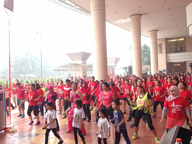 Celebrity Fitness Malaysia, National Kidney Foundation- Dance-athon-002