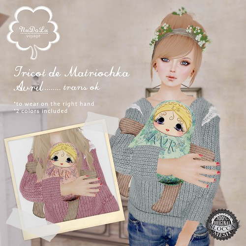 NuDoLu Voyage Tricot de Matriochka April for TGGS AD