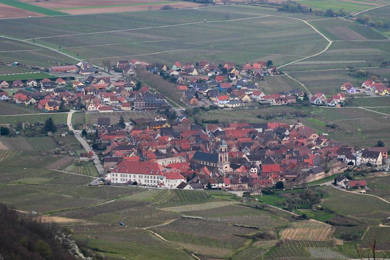 Blick von der Haut Koenigsburg