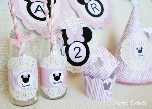 Kit Imprimible Minnie by Merbo Events