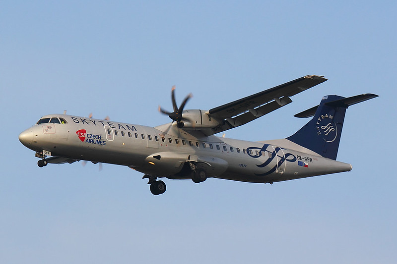 CSA Czech Airlines - AT72 - OK-GFR (1)
