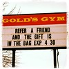 Attention members! Make sure to refer a friend and get a free gym bag or backpack!