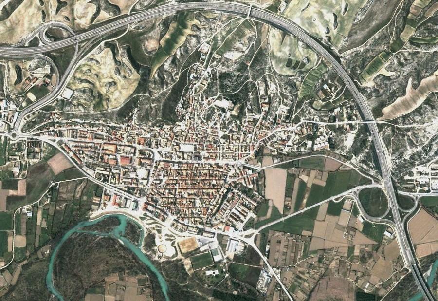 zuera, zaragoza, zuzón, antes, urbanismo, planeamiento, urbano, desastre, urbanístico, construcción