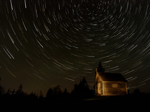 Chapel in Starlight by Keith Doucet