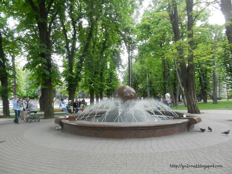 Винницкий фонтан в сквере Козицкого