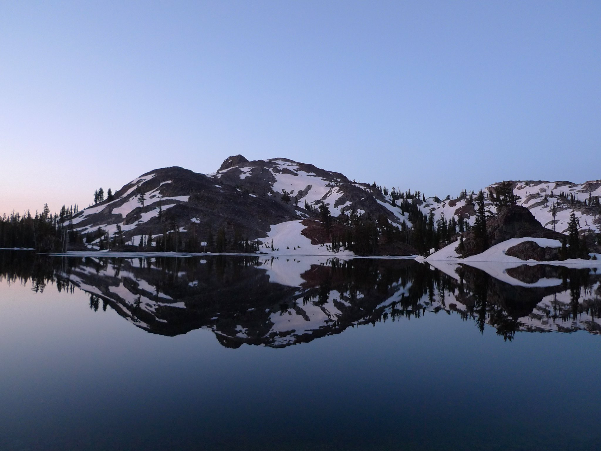 Sunrise at Heather Lake