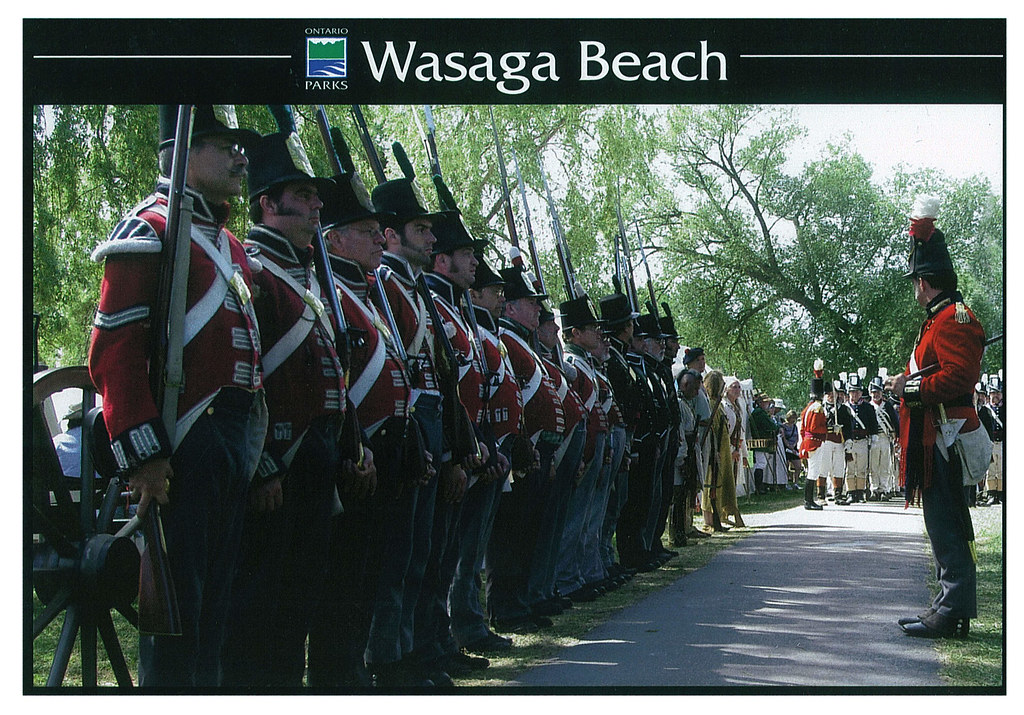 Ontario - Wasaga Beach - War of 1812 re-enactment