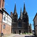 Lichfield Cathedral, Exterior View. by Heaven`s Gate (John)