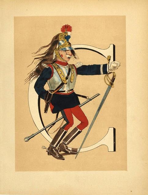 007-Armee française  nouvel alphabet militaire-1883- H. de Sta-BNF