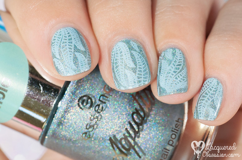 Born Pretty Store - Summer beach stamping plate