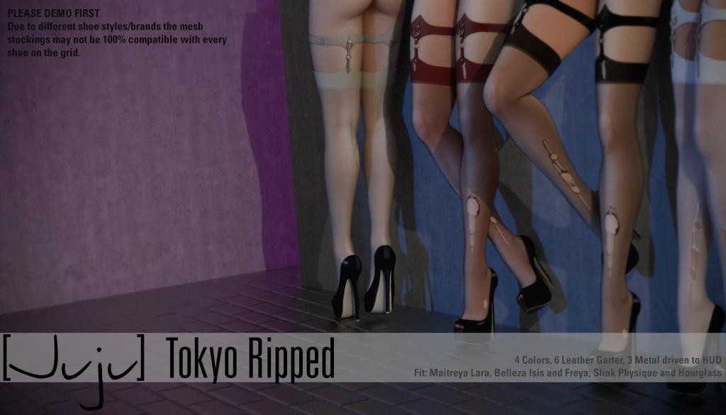 [Juju] Tokyo Stockings - Ripped for Uber - SecondLifeHub.com