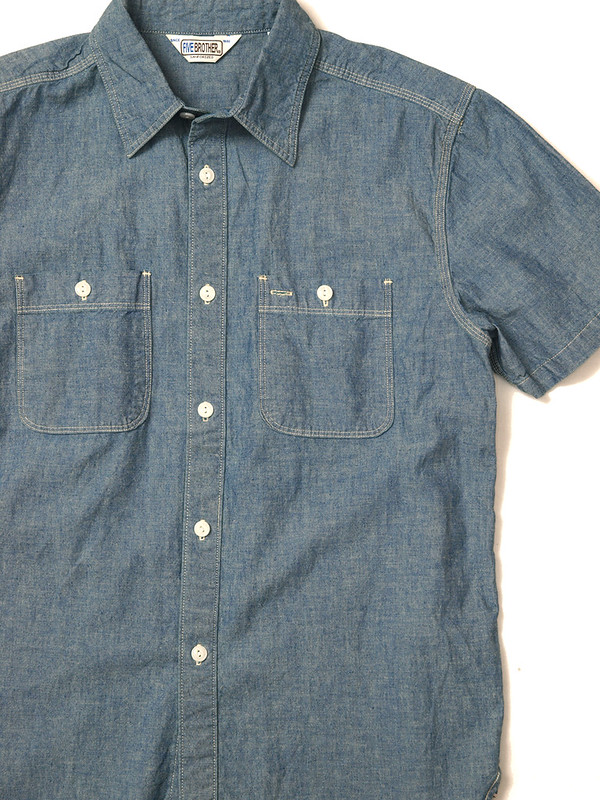 Five Brother / S/S Chambray Workshirt