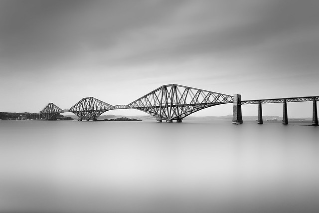 The Forth through the calm