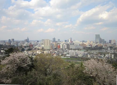 IMG_5286 仙台城跡から見た仙台市街 2013年4月22日15:52 by Poran111