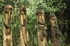 Ethiopian wooden sculptures