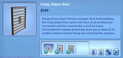 Crazy Zebra Doors