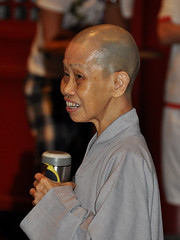 Singapore - Buddhist Nun Portrait