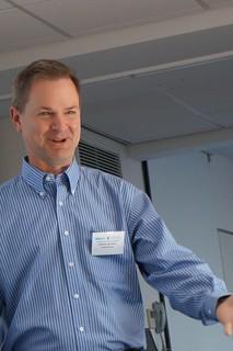 Professor Stasko at the Big Data Info Vis Summer School 2013