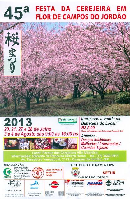 45ª Festa da Cerejeira em Flor de Campos do Jordão