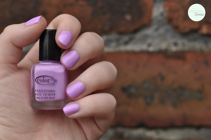 notd colour club pardon my french purple creme nail polish rottenotter rotten otter blog