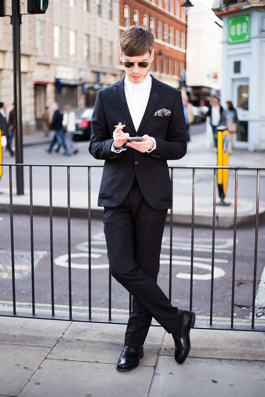Street Style - London Collections: Men