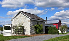 Belle Grove blacksmith shop and barn