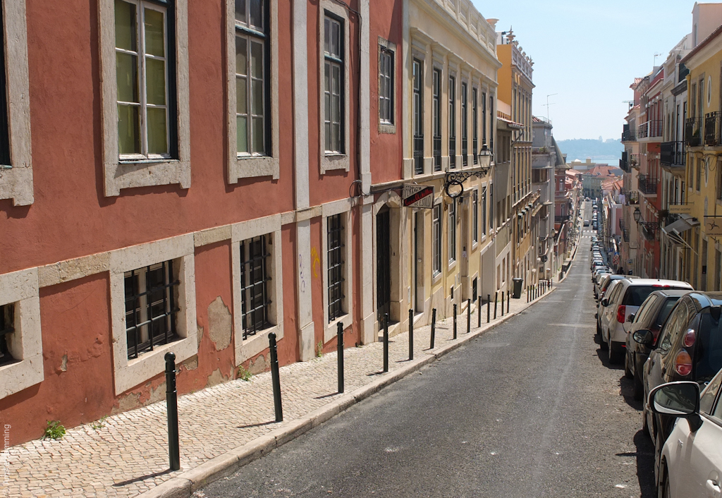 Lisbon, Beautiful Streets of Principe Real District