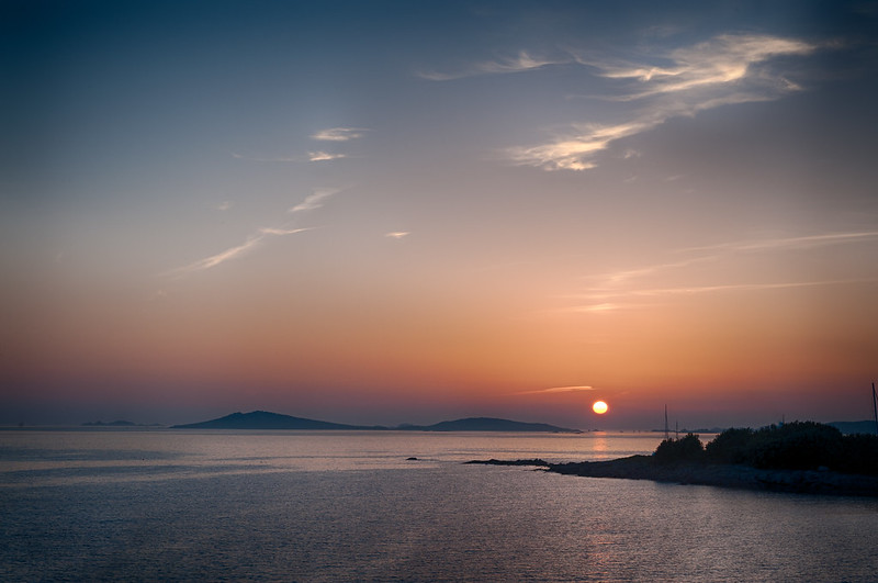 Porth Thomas sunset