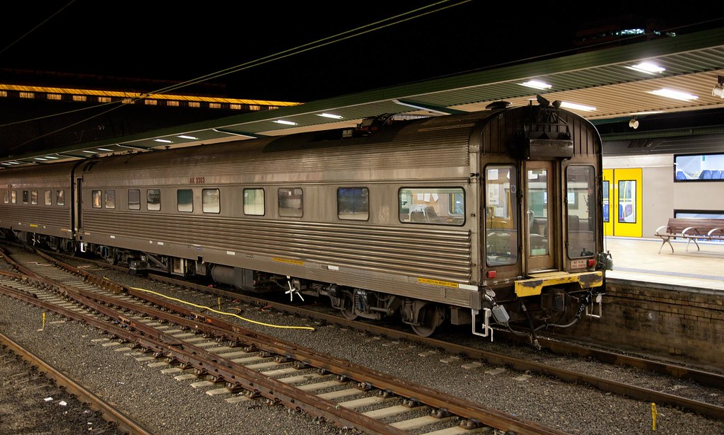 AK2383 at Sydney Terminal by Trent